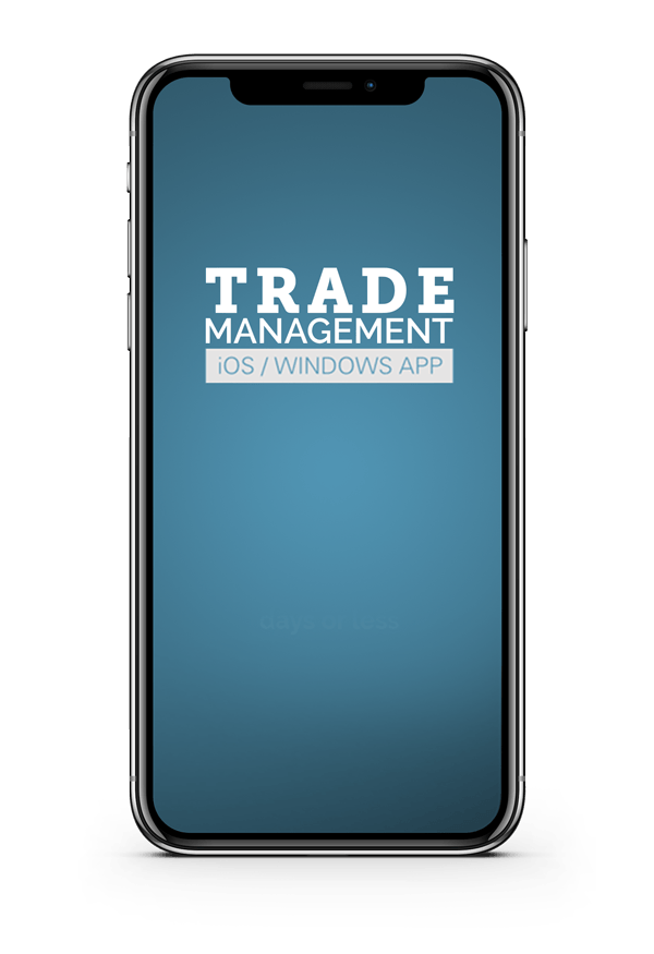Trade Management iPhone App